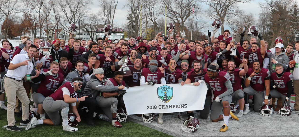 Football Claims New England Bowl Title Over Maritime, 17-14