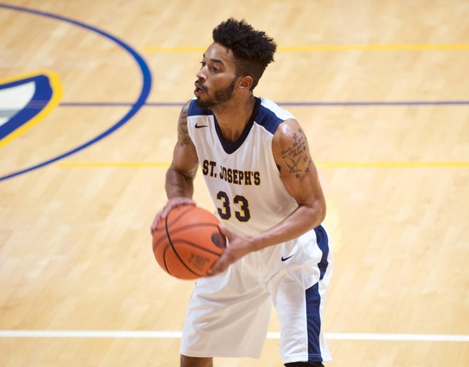 Men's Basketball Held by Mount St. Vincent at Home