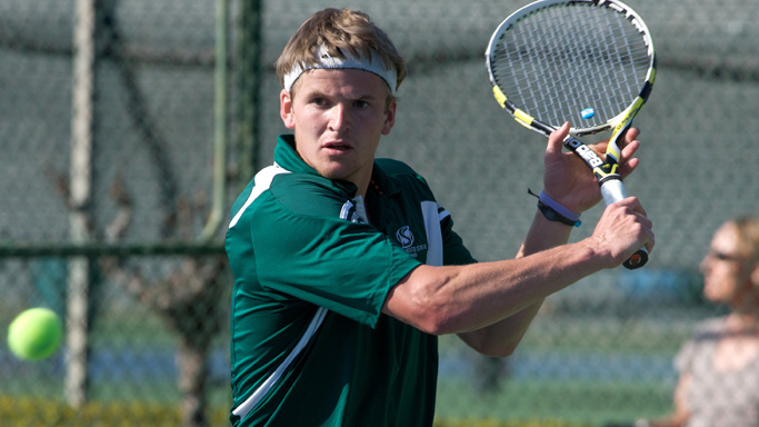 MEN'S TENNIS FALLS TO LOYOLA MARYMOUNT, 5-2