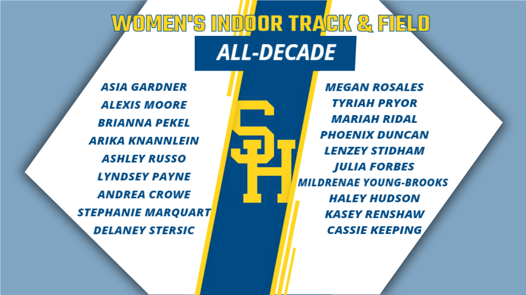 Siena Heights All-Decade Series: Women's Indoor Track and Field