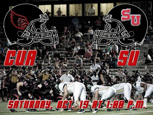 CUA Football Takes on Shenandoah on Saturday