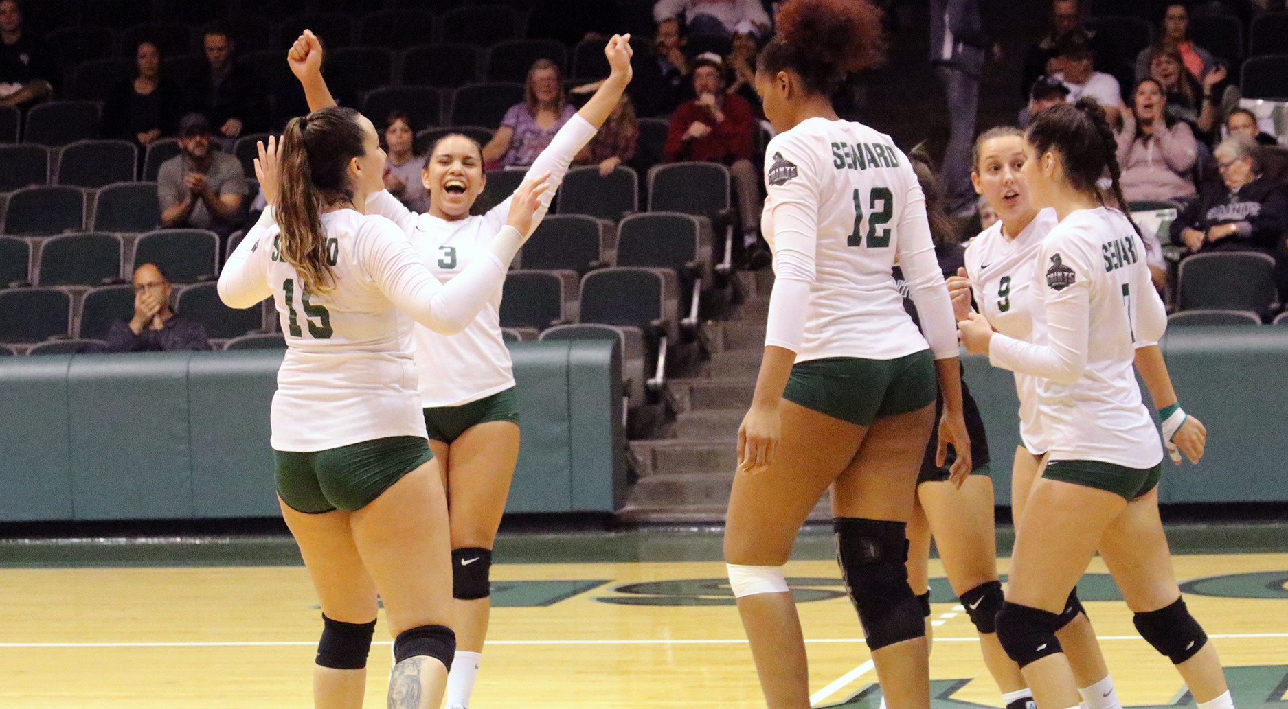 Lady Saints Win 20th, Sweep Rival Hutchinson