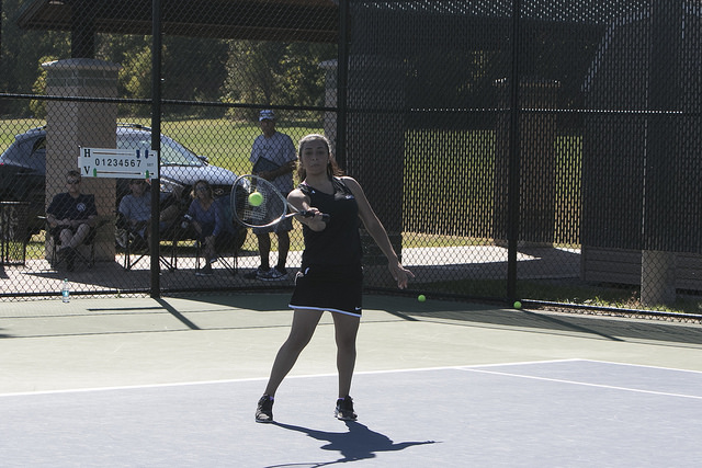 Women's tennis team defeated by conference foe College of New Rochelle on Sunday afternoon