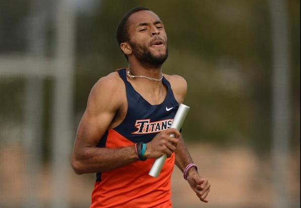 York-Mouton Named Big West Men's Track Athlete of the Week