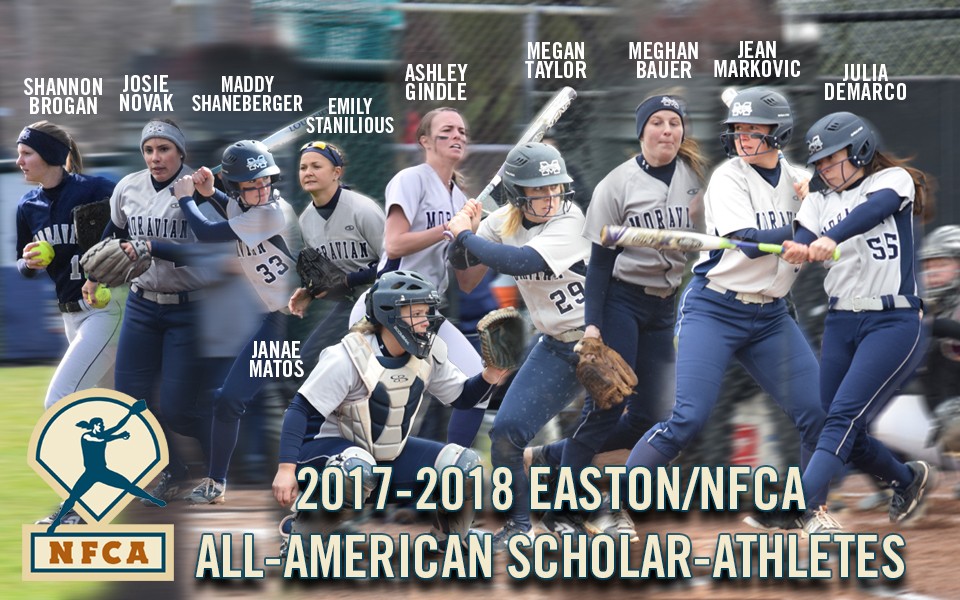 10 Greyhounds named 2017-18 Easton/National Fastpitch Coaches Association All-America Scholar-Athletes