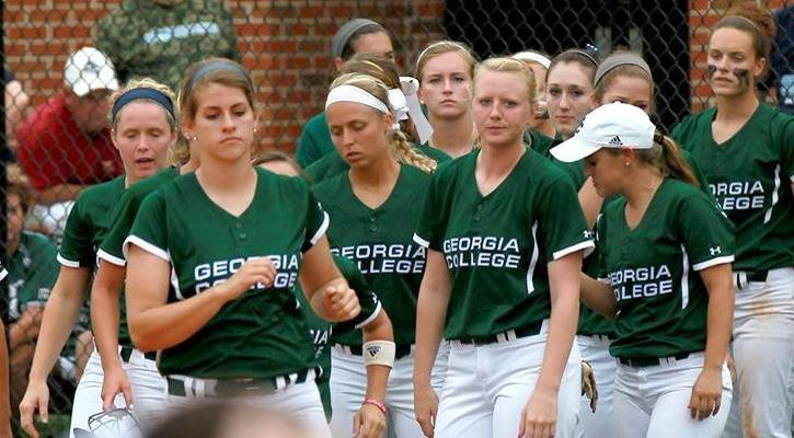 GC Softball Unable to Bring Home Runners in Elimination Game