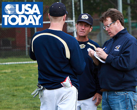 USA Today features Gallaudet University's baseball program as Tuesday's Sports Cover Story