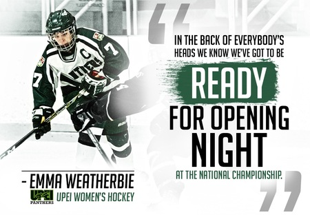 UPEI's Weatherbie will cap varsity career on home ice at national championship