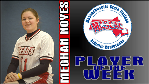 Meghan Noyes Named MASCAC Player of the Week