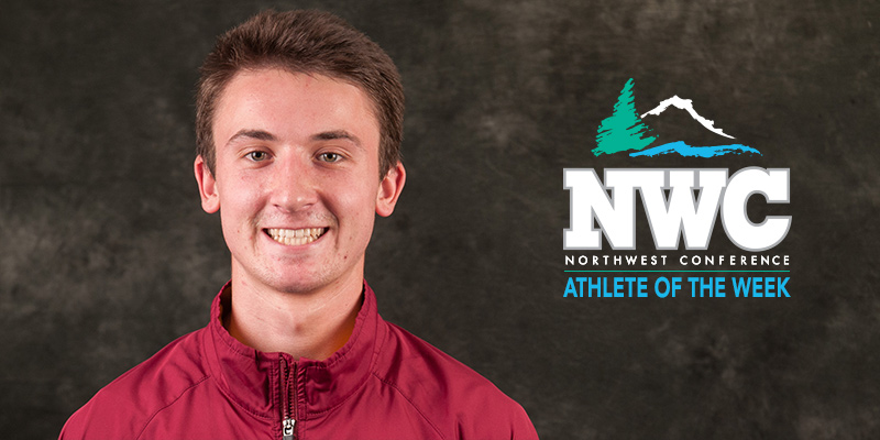 Loftus is Chosen as NWC Men's Track Student-Athlete of the Week