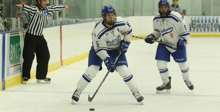 Men's Hockey picks up first point of the season