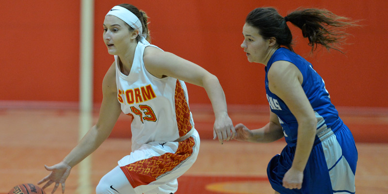 Storm women look for three straight in rematch with Wartburg