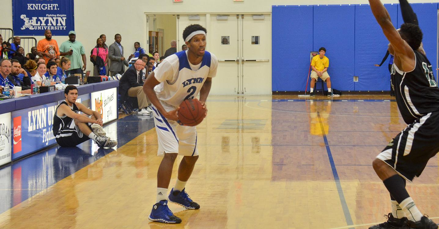 Harrison Drops 27 Points in Men's Basketball Win Over Seton Hill