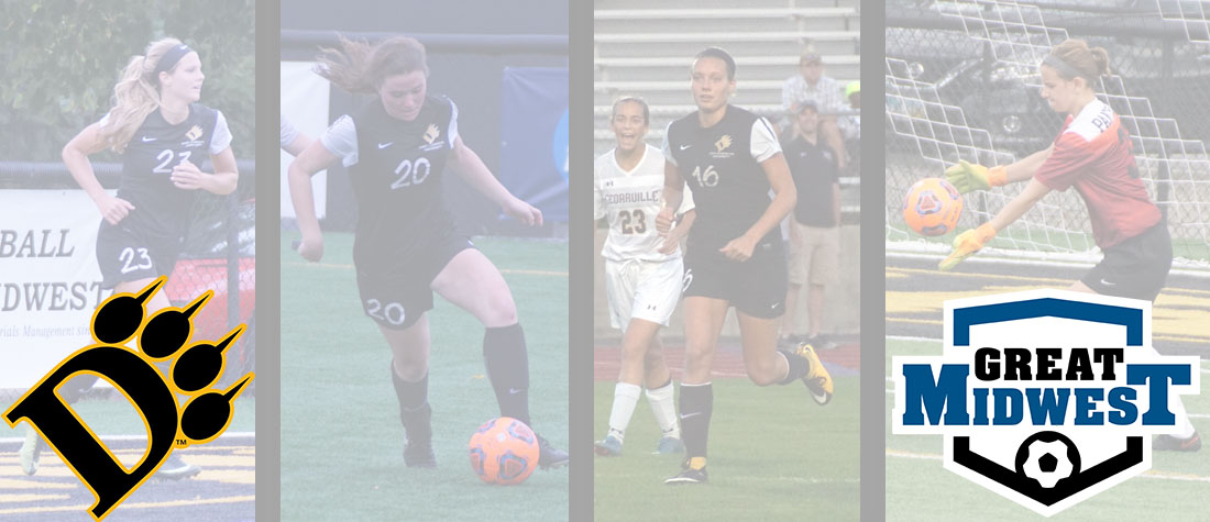 Four From Women's Soccer Named To Great Midwest All-Conference Teams