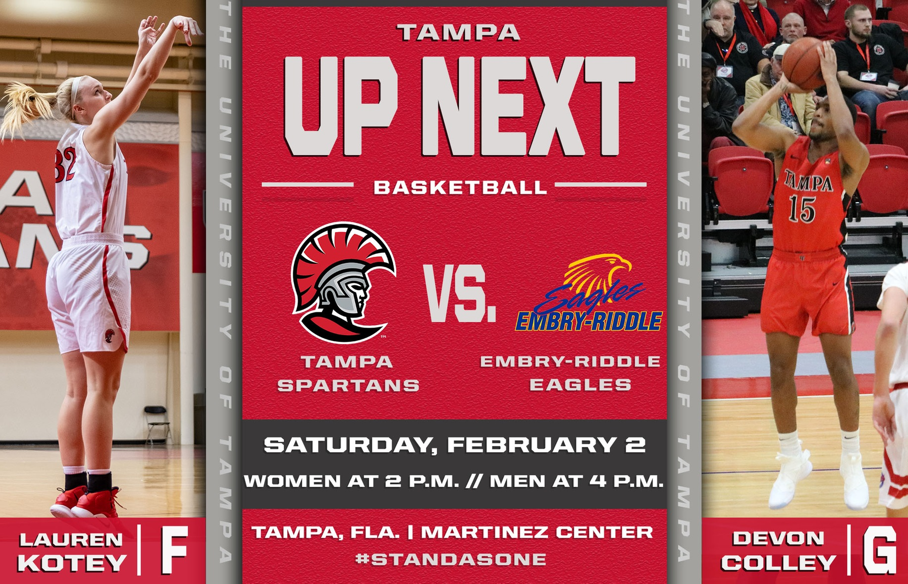Tampa to Host Embry-Riddle