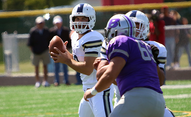 Wyse and Barnett Have Record Days in Lopsided Win At Bluffton