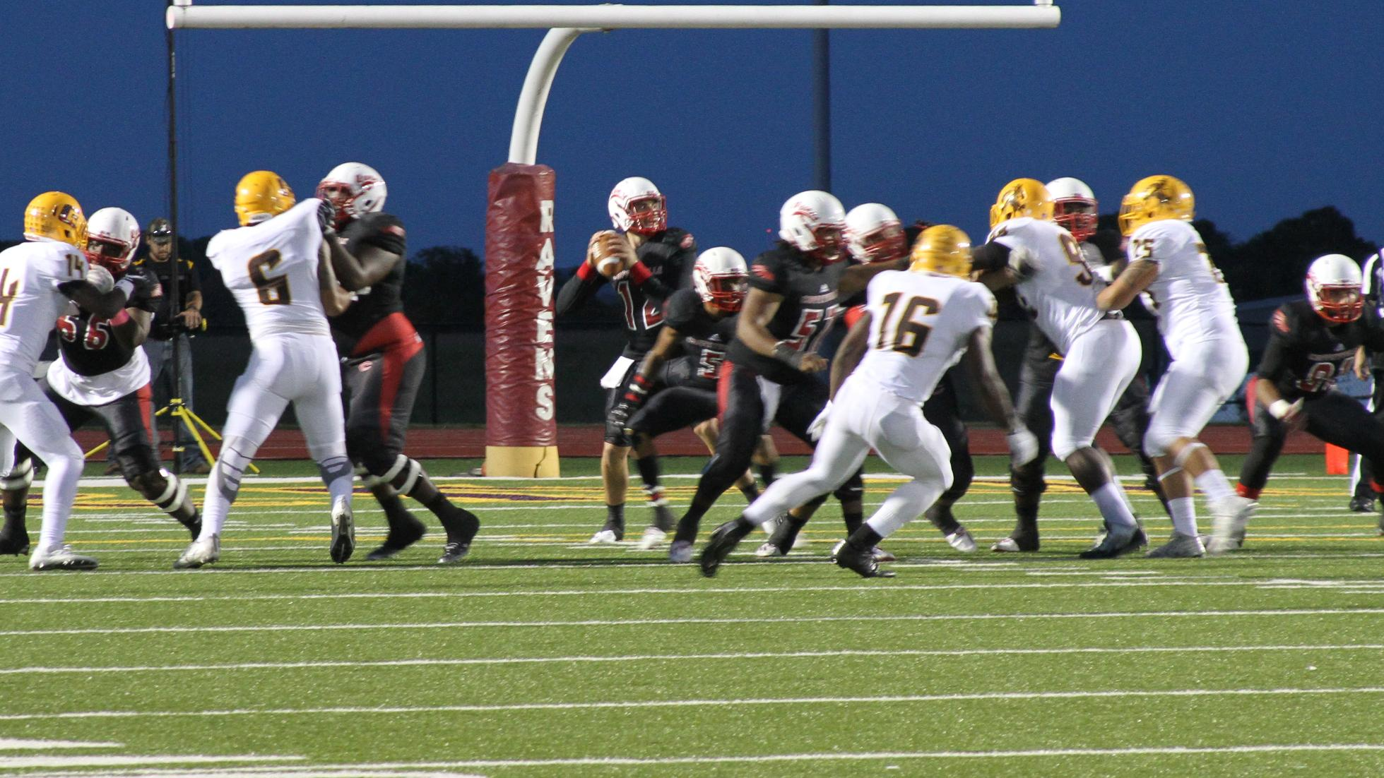 Ravens Can't Hold Onto the #3 Broncbusters, Lose 13-39