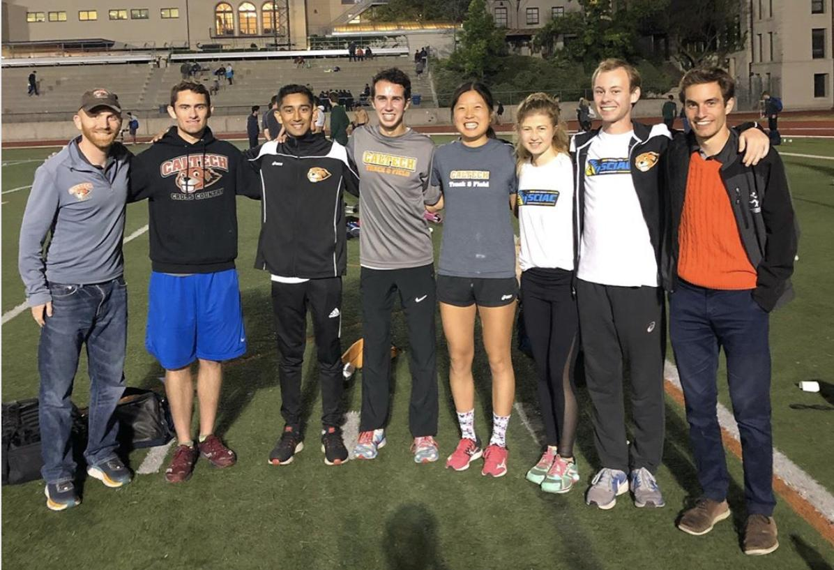 Hu Breaks 5000 Record One More Time at Oxy Invite