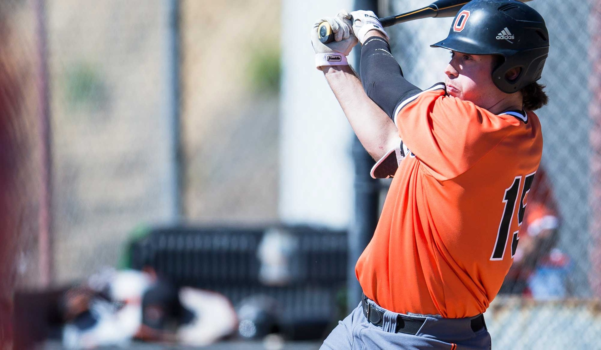 Fredrickson Homers Twice as Oxy Wins Game 2