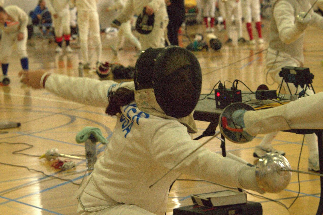 Fisher, Kim, Meyer Represent at BladeRunner US Fencing ROC