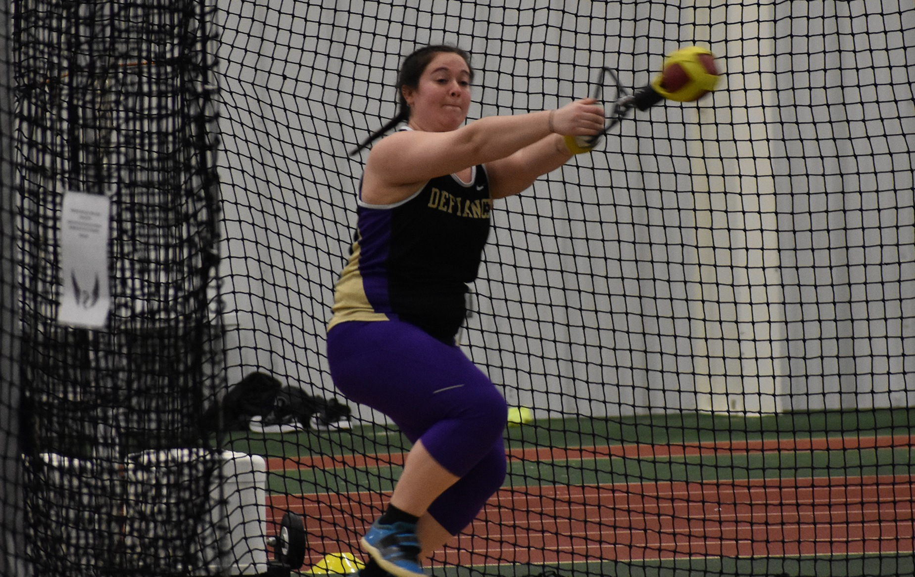 Williams Wins Hammer at Ohio Wesleyan