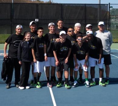 Men's Tennis Captures Third Straight Skyline Conference Title