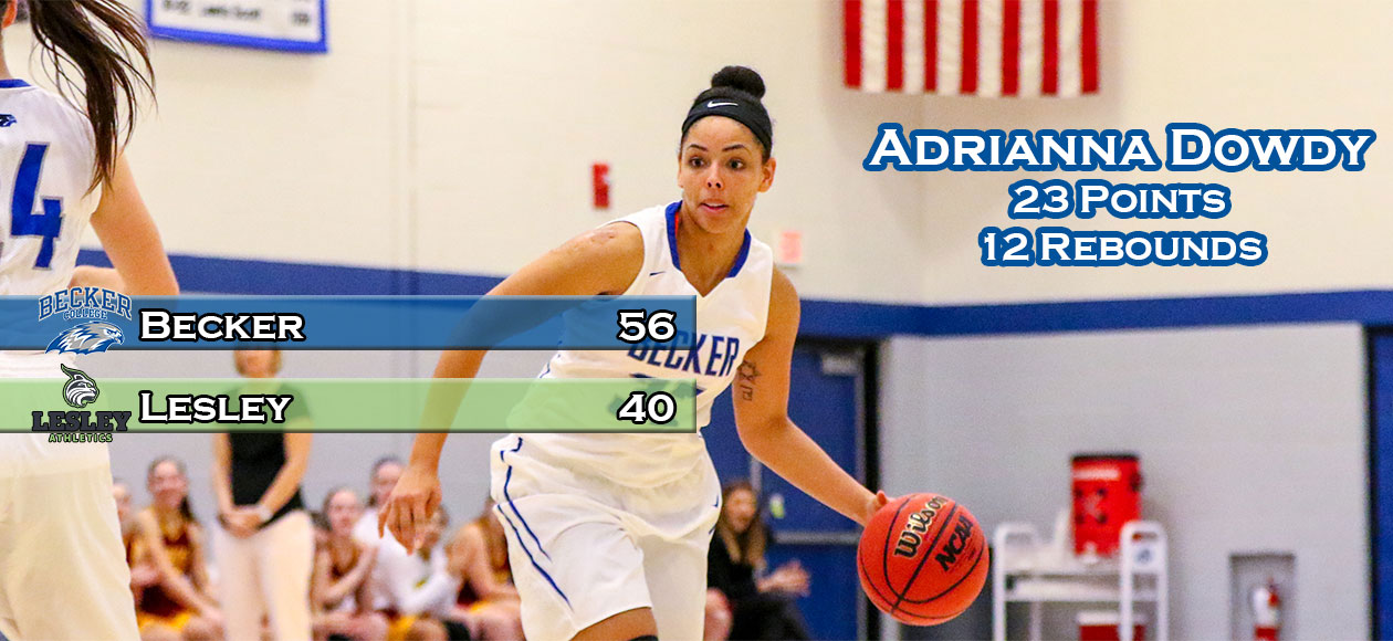 Dowdy's double-double leads Women's Basketball past Lynx