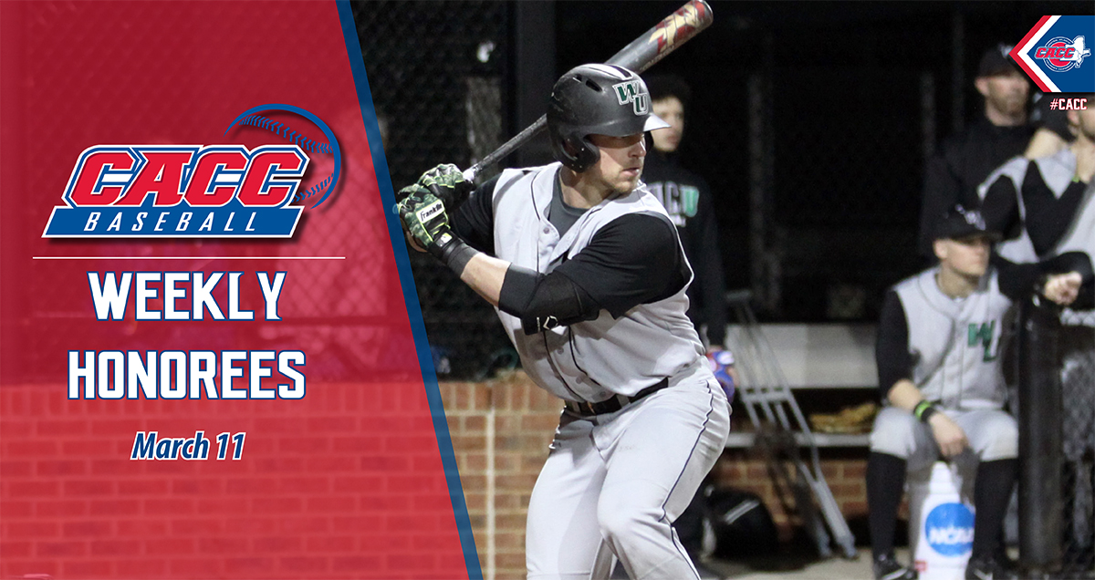 CACC Baseball Weekly Honorees (March 11)