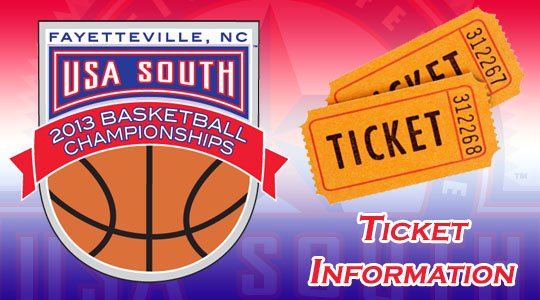USA South Basketball Tournament Ticket Information