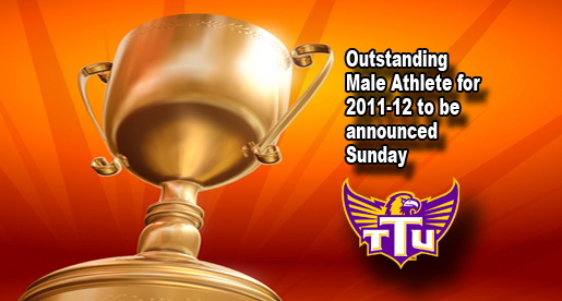 Ten finalists announced for 2011-12 Outstanding Male Athlete award