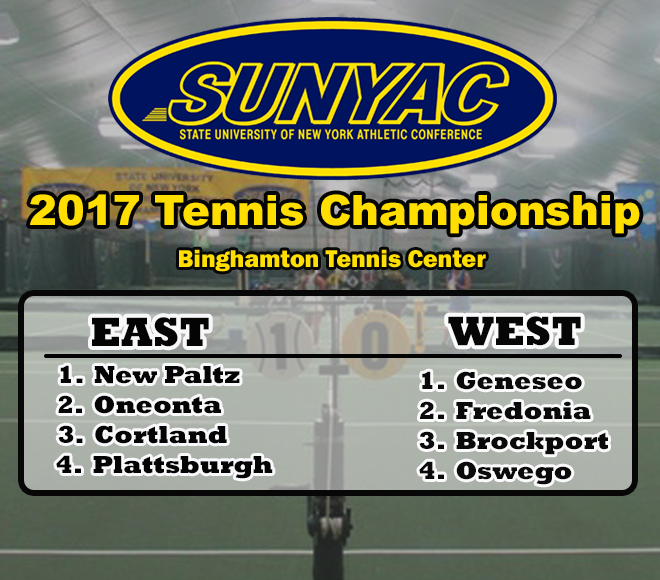 Feature Friday: 2017 women's tennis SUNYAC Championships