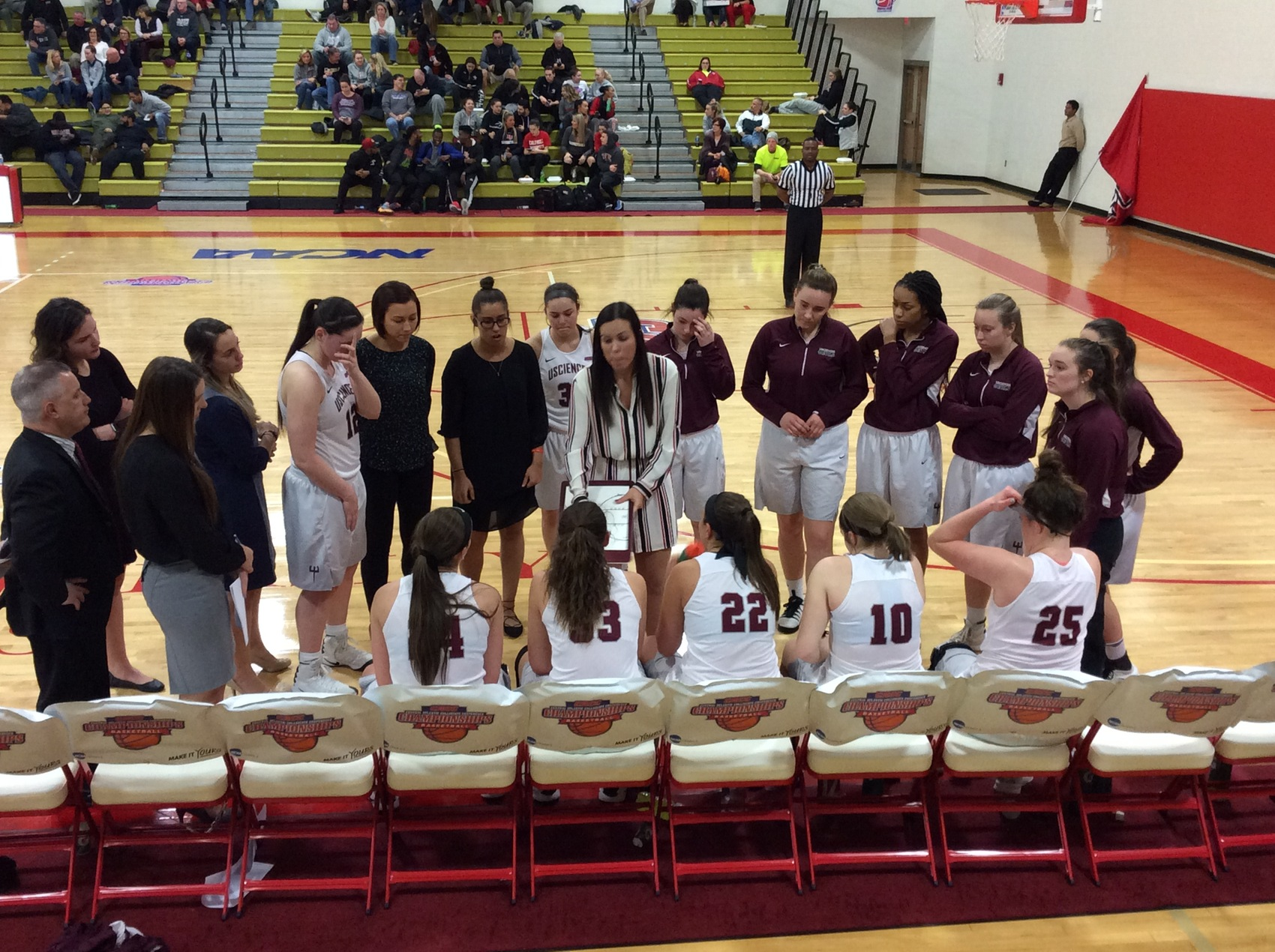 Women's Basketball Advances To CACC Championship Finals