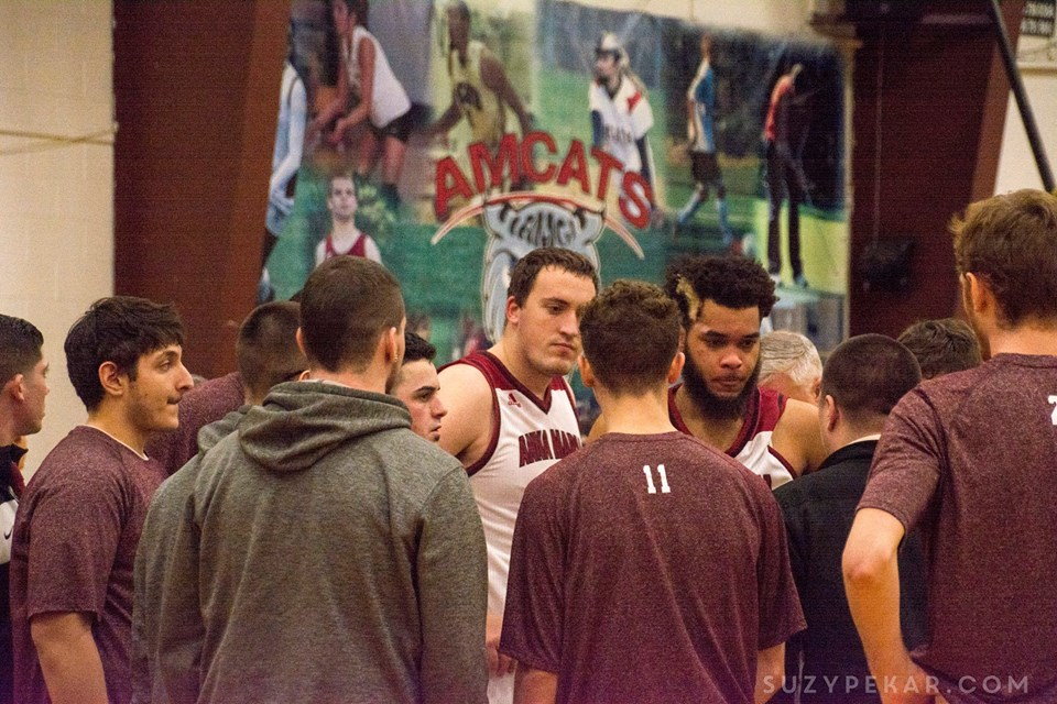 Falcons Beat AMCATS in GNAC Playoff Opener