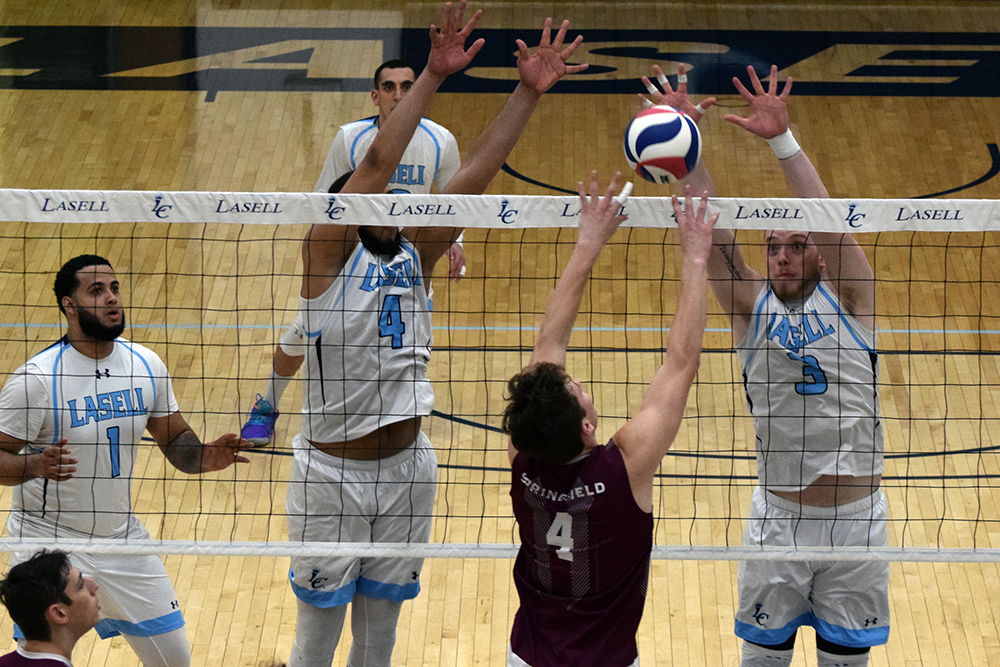 MVB: Lasell falls in four sets to #2 Springfield