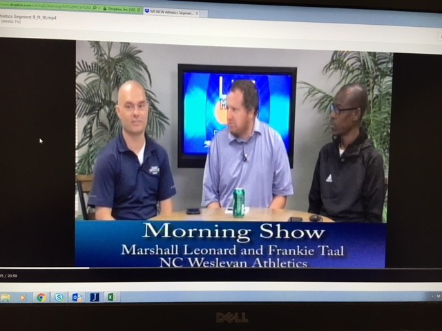 Leonard & Taal Featured on WHIG Morning Show