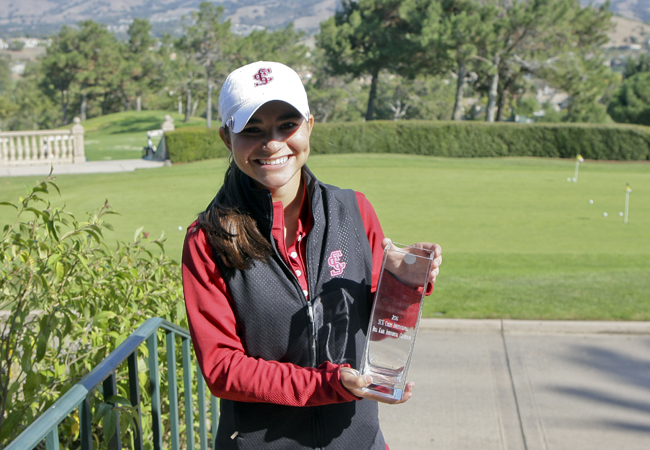 Camany, Broncos Win Tournament Titles at SCU Colby Invitational