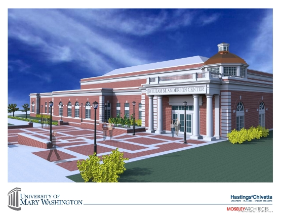 UMW Marks Anderson Center Groundbreaking With Ceremony