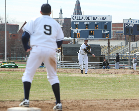 Gallaudet win streak stops against Husson as Spring Break trip begins