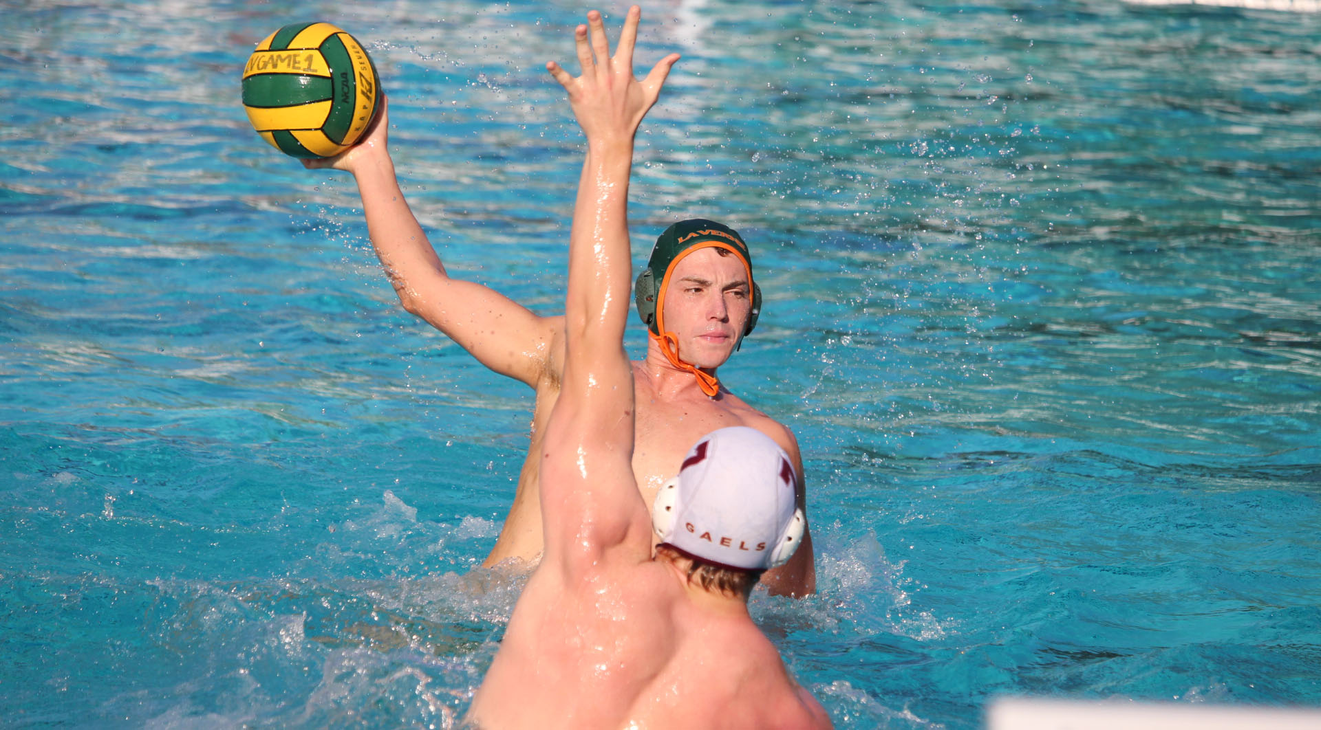 Men's Water Polo falls after late surge by CLU