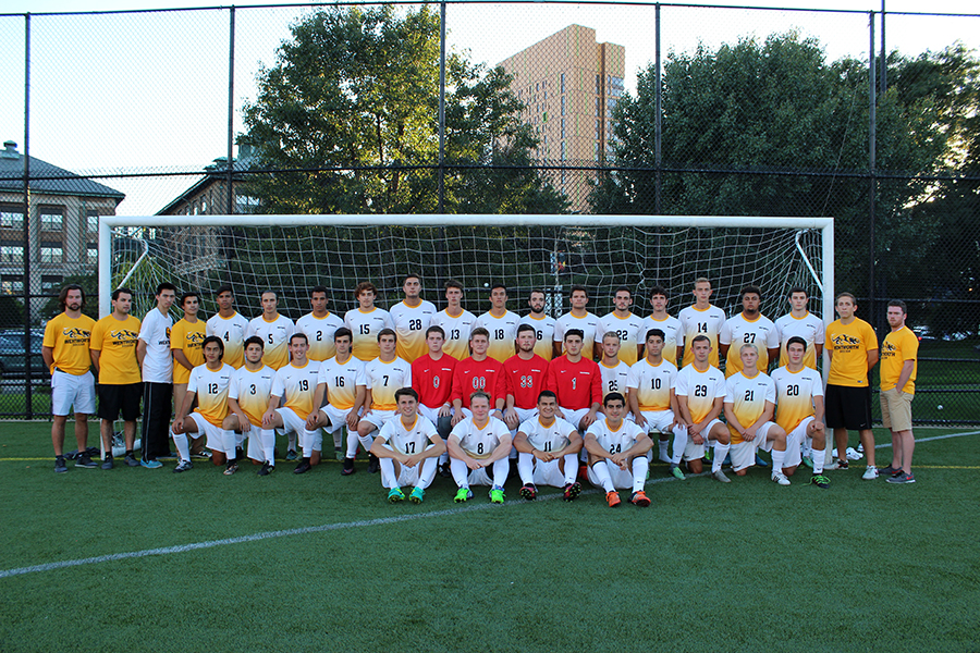 Men's Soccer Ties With Lesley