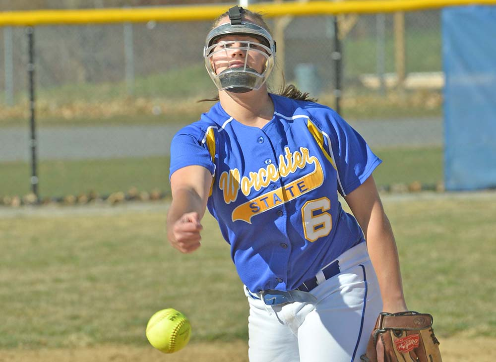 Softball Stunned by Tufts and St. Olaf on Day Four