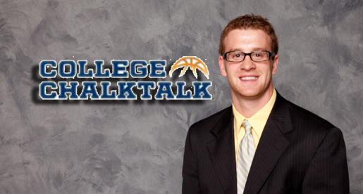 "Willemsen talks about ""Handling Adversity"" as a team for College Chalktalk"