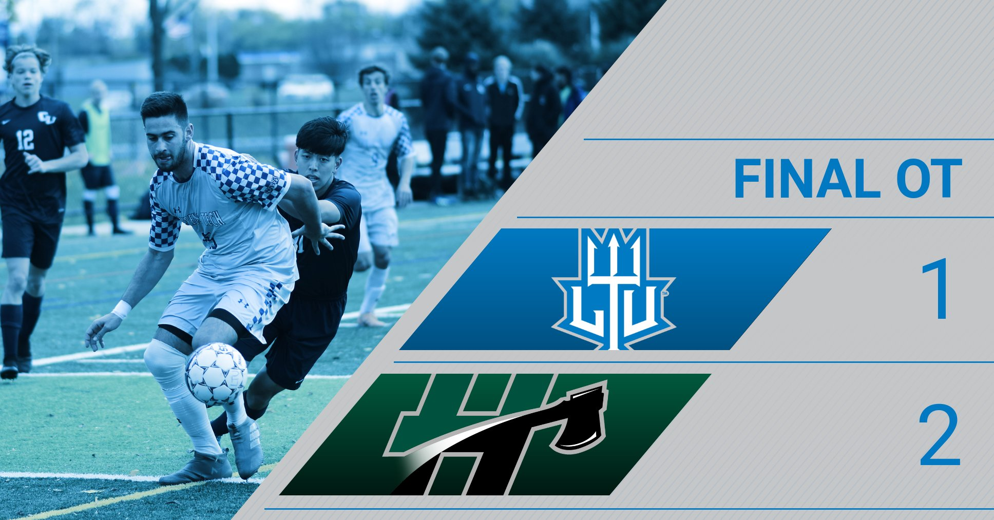Blue Devils Drop Road Contest in OT vs. the Foresters of Huntington (Ind.) University