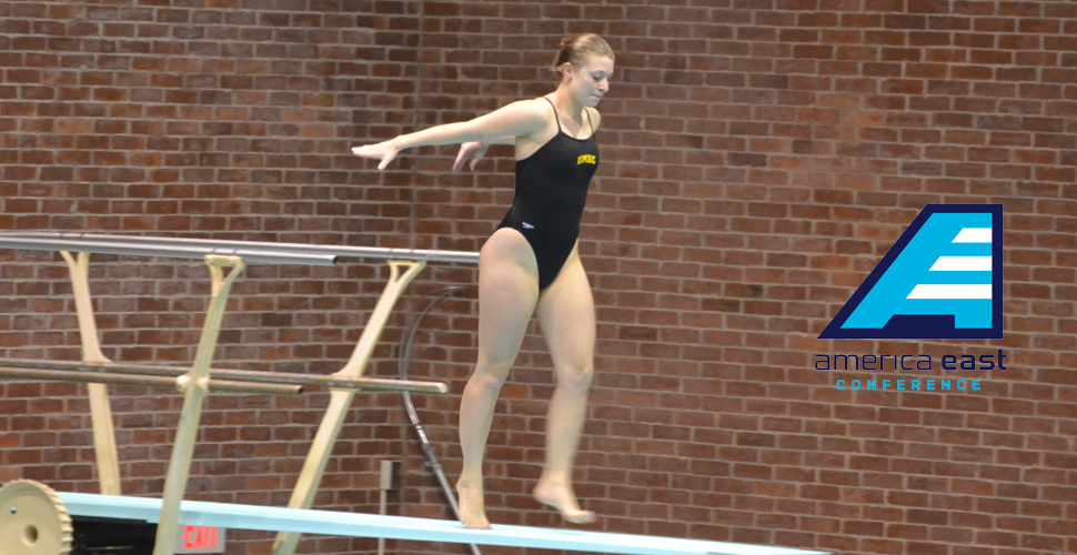 Darelius Takes Home America East Diver of The Week Honors for Fourth Time