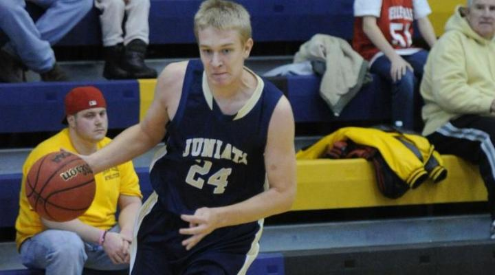 Scholly's season high 18 points leads Juniata past Scranton, 82-59