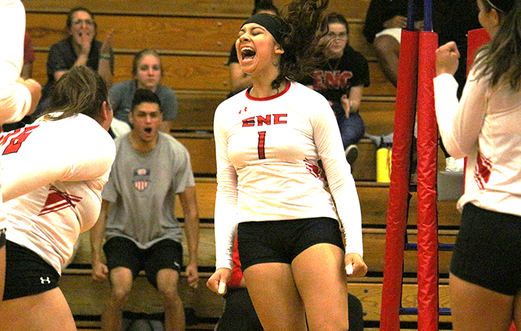 Ruth Aguilar Collects NECC Women's Volleyball Player of the Week Honors
