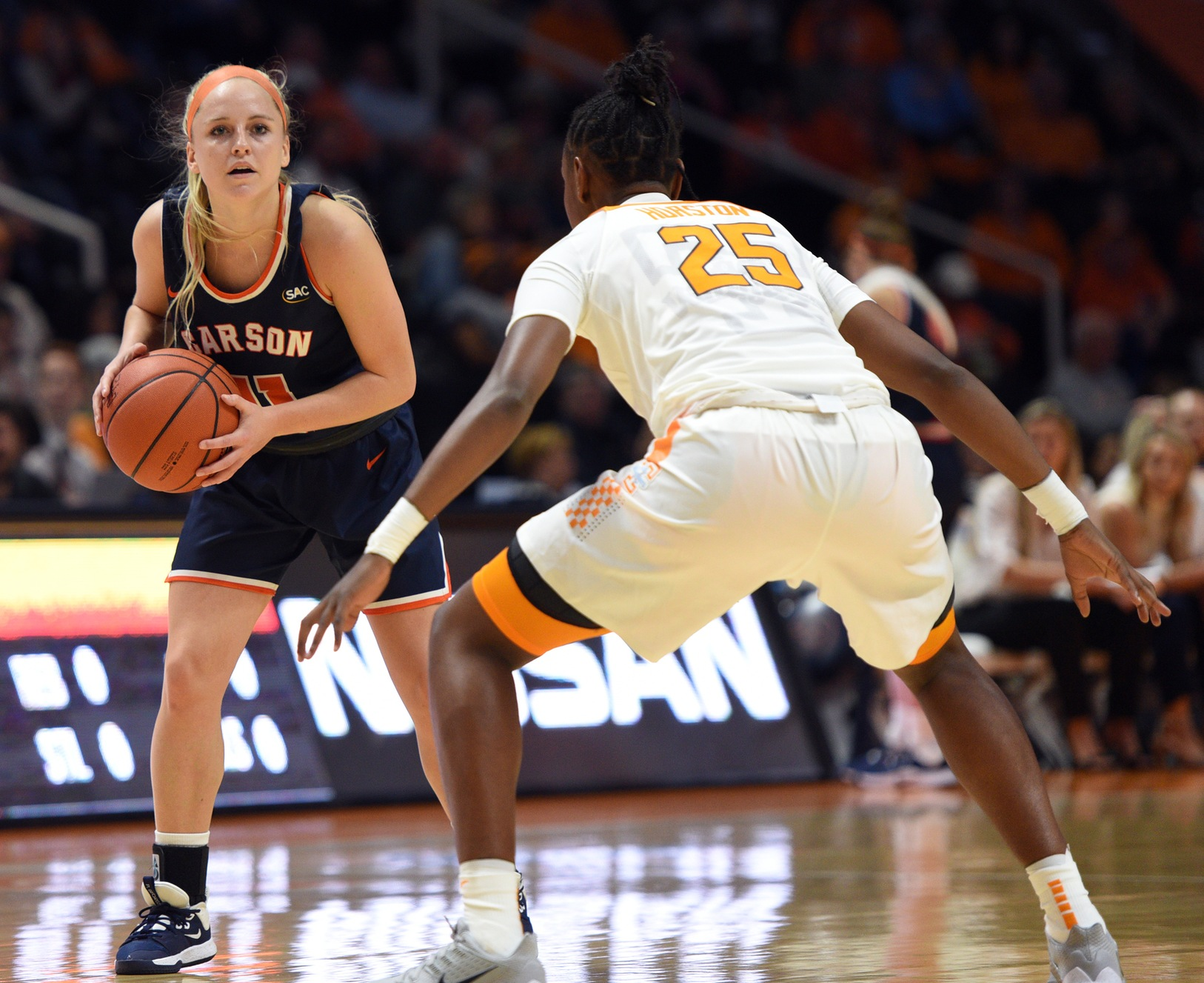 Lady Eagles hang tough with Lady Vols on Rocky Top