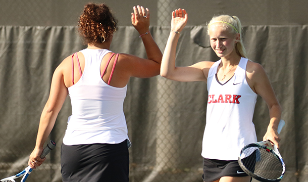 Rhode Island College Defeats Women's Tennis In Non-Conference Action