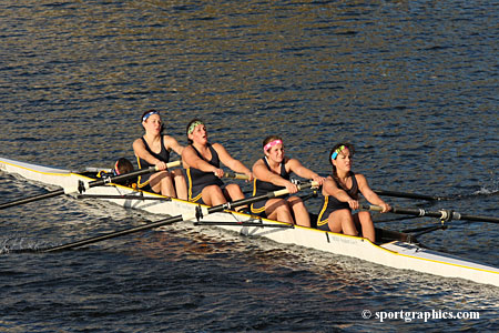 Women's Crew Closes Out Fall Schedule With Solid Performance At Head Of The Fish Regatta