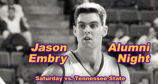 Alumni Night Faces: Jason Embry among former players returning Saturday